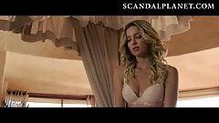 La bella Annabelle Wallis desnuda y follando en películas