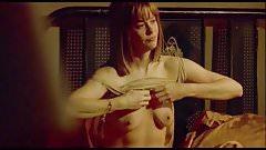 """Meg Ryan desnuda y follando en la película """" In The Cut """" (Topless y tetas)"""